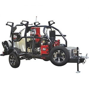 NorthStar ProShot Hot Water Commercial Pressure Washer Trailer — 3000 PSI, 4.0 GPM, Honda Engine, 200 Gal. Water Tank