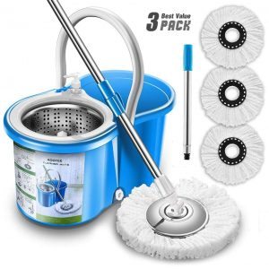 Aootek Upgraded Stainless Steel mop