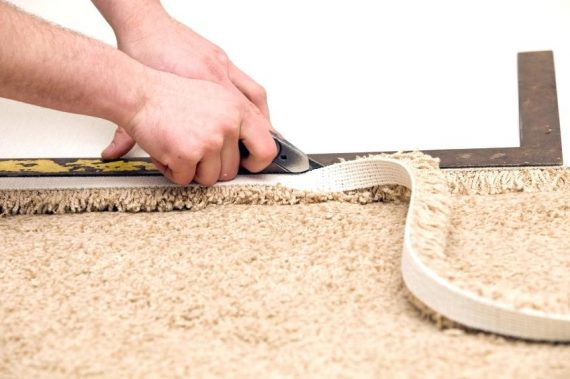 How To Install Carpet Padding On Concrete Floor