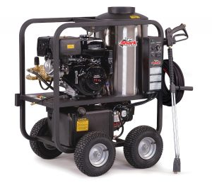 Shark SGP-353037 3,000 PSI 3.5 GPM Honda Gas-Powered Hot Water Commercial Series Pressure Washer
